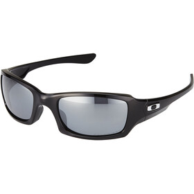 Oakley Fives Squared Lunettes, polished black/black iridium polarized